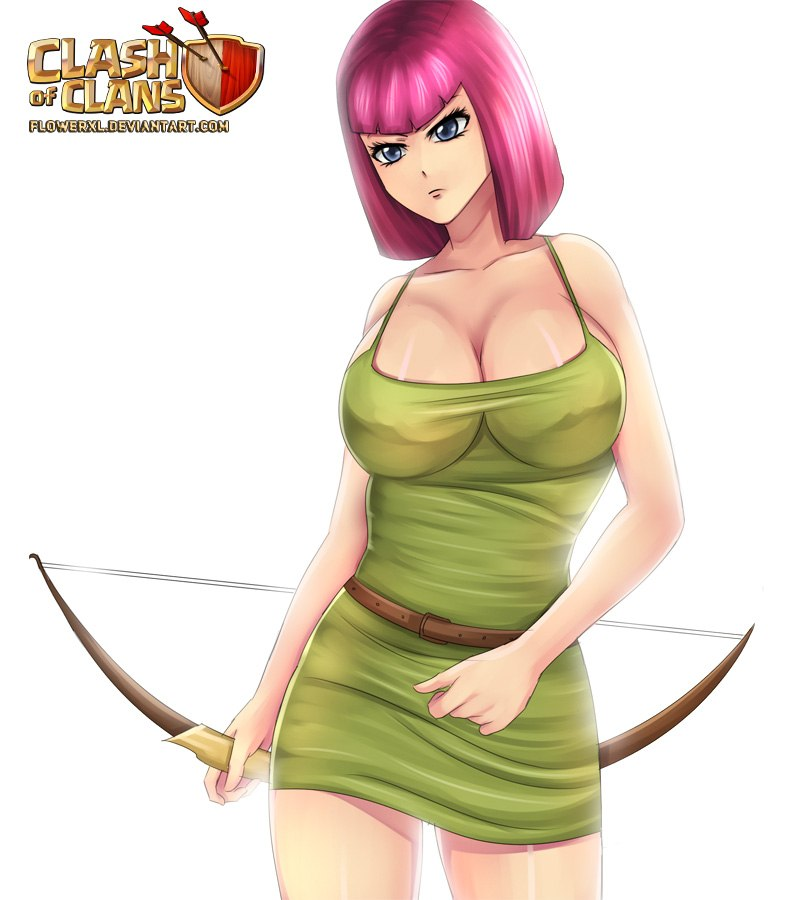 archer clash clans of queen nude Where to find tobi kadachi