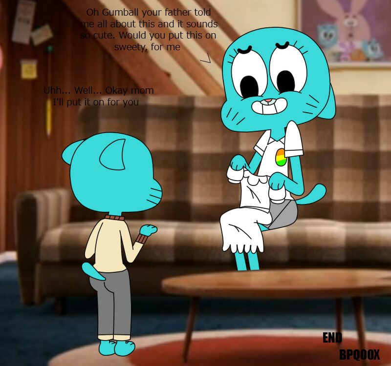 characters gumball world the amazing of Why is rick always drooling