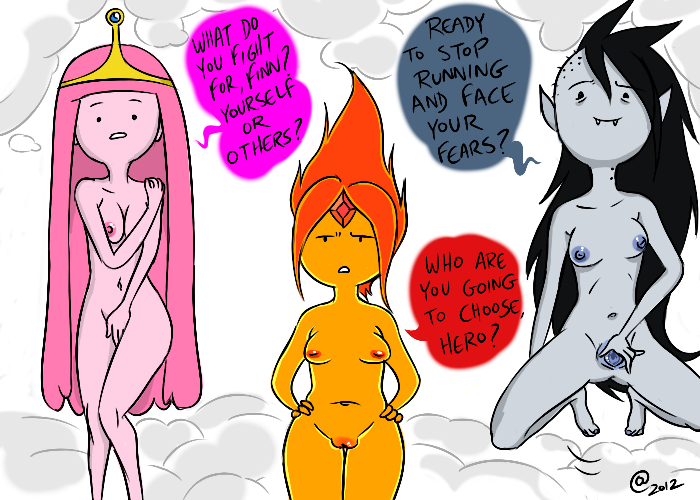 time nude bubblegum adventure princess Female possession by male ghost