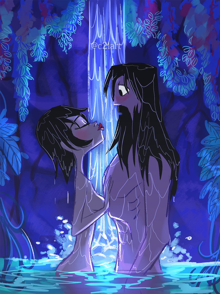 daughter of fanfiction kyuubi naruko Marceline the vampire queen naked