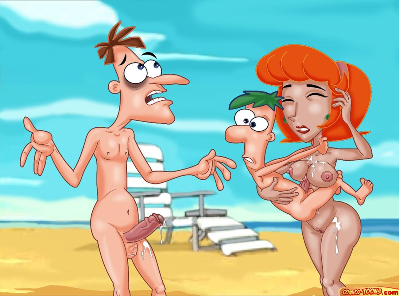 and ferb porn phineas comic The book of life sanchez twins