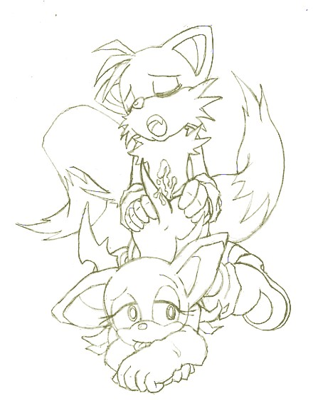 fanfiction lemon rouge and tails Chi chi dragon ball z
