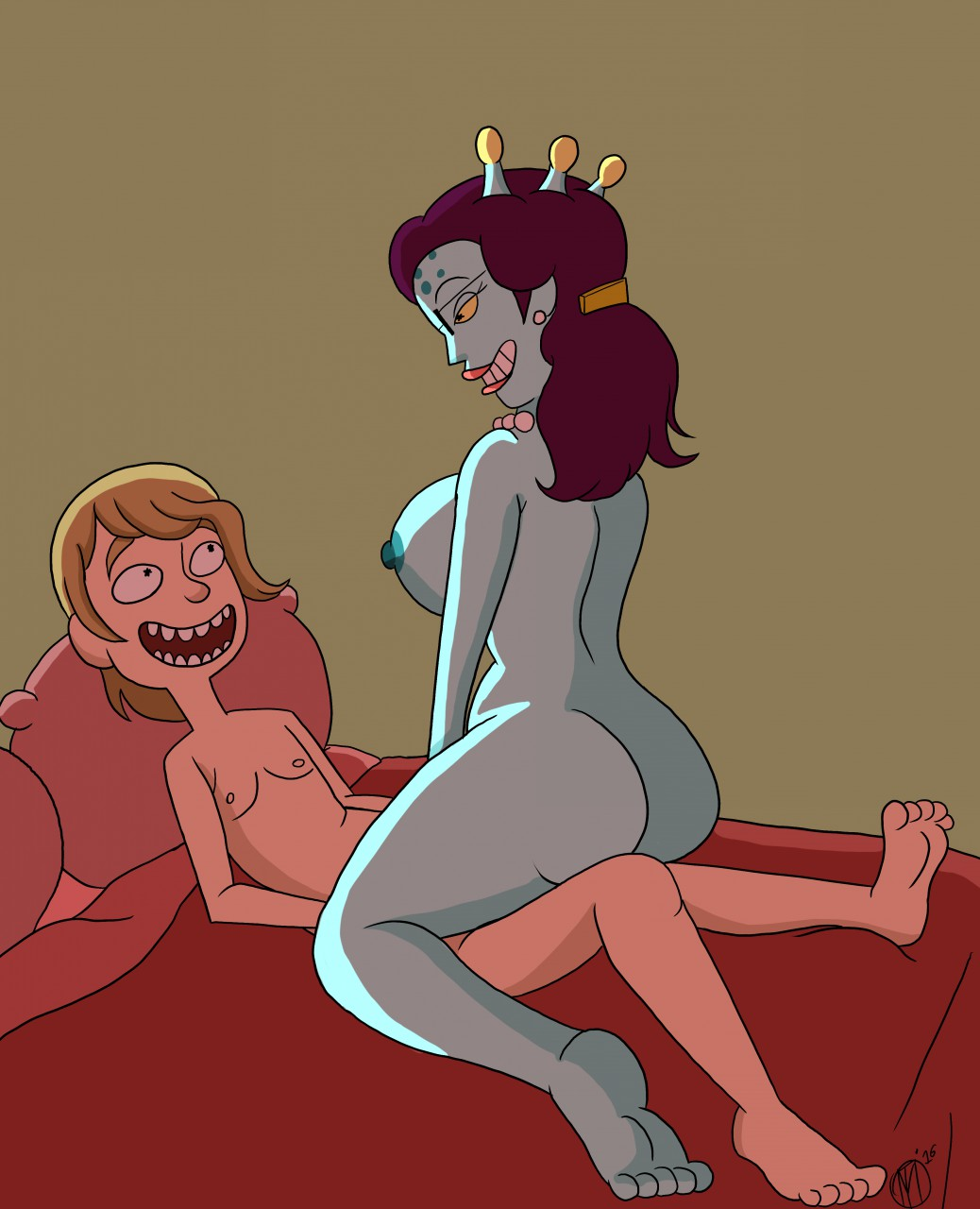 morty a xxx rick way and back home Five nights at freddy's sex comics