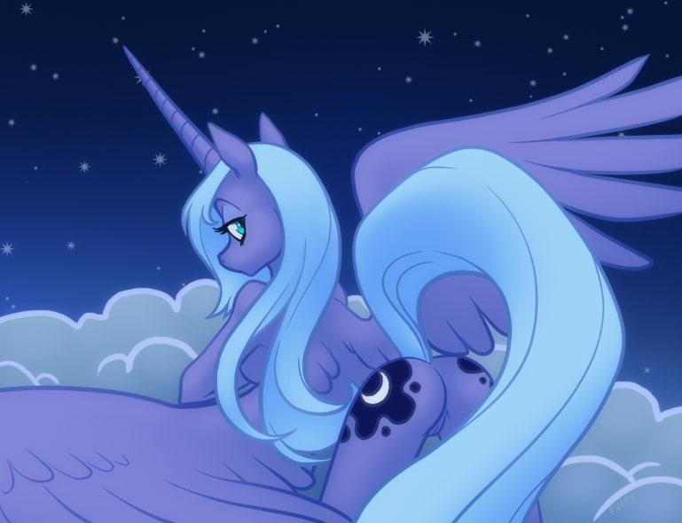 luna porn little pony my Panty and stocking with garterbelt stocking
