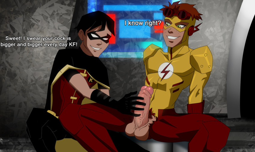 west difference barry costume allen wally Hime-sama-gentei