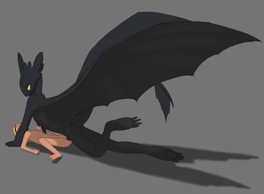 to how astrid train your dragon Rawr x3 pounces on you