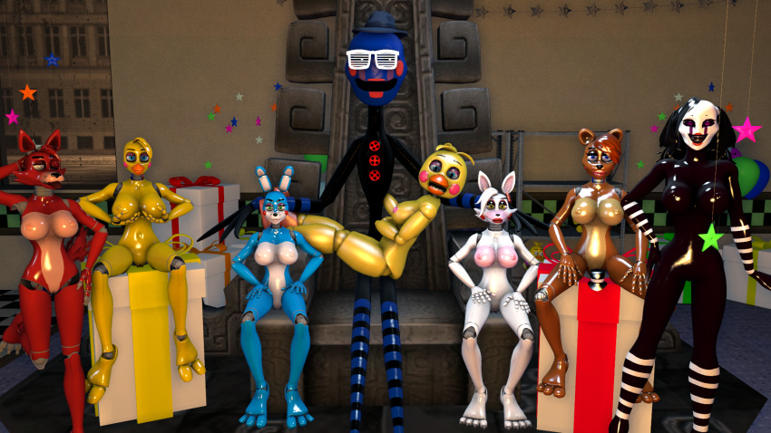 fan at nights freddy's five art Dancer of boreal valley hentai