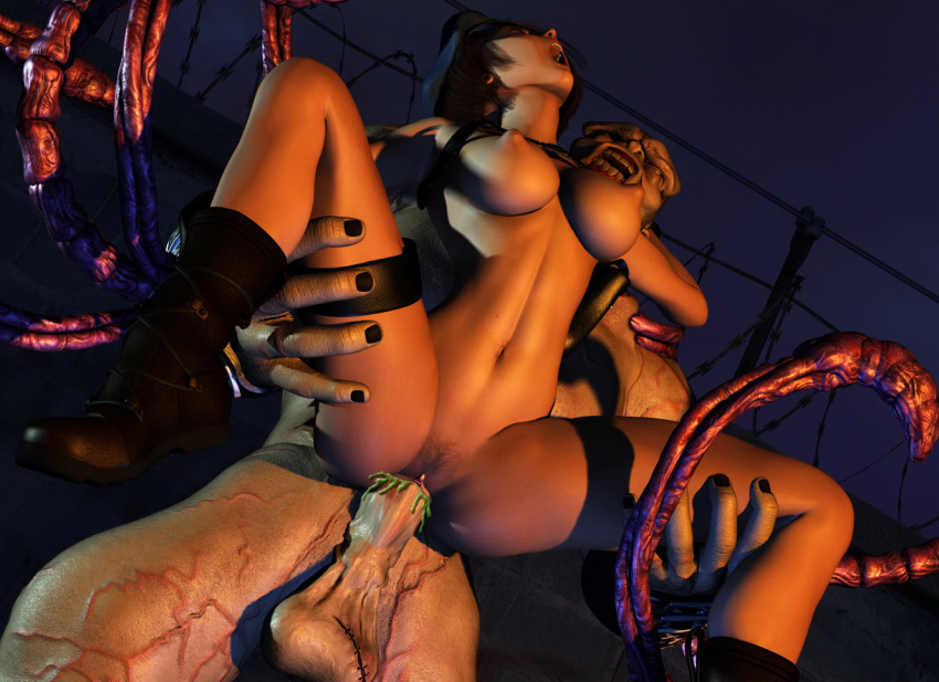 resident porn jill evil valentine All the way through horse cock
