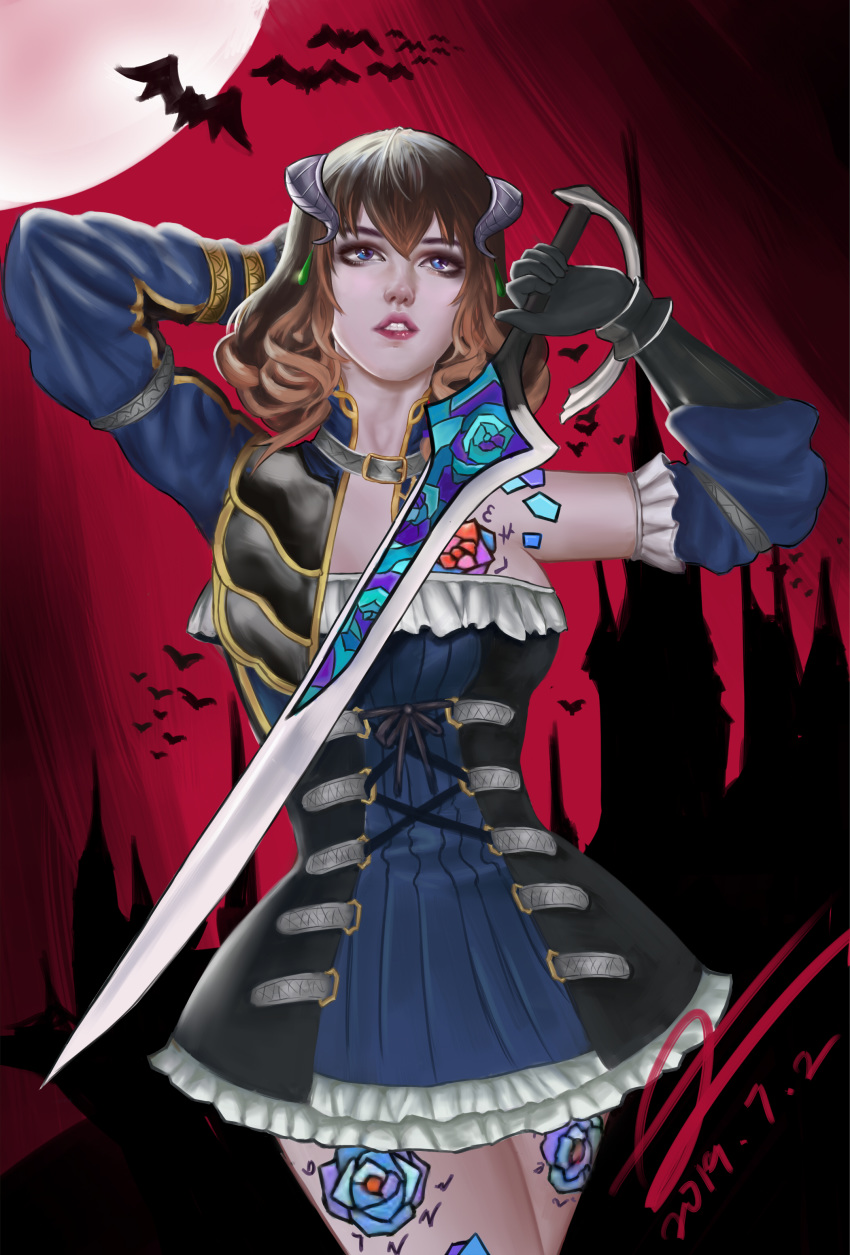 tail night ritual bloodstained the demon of She ra and the princesses of power bow