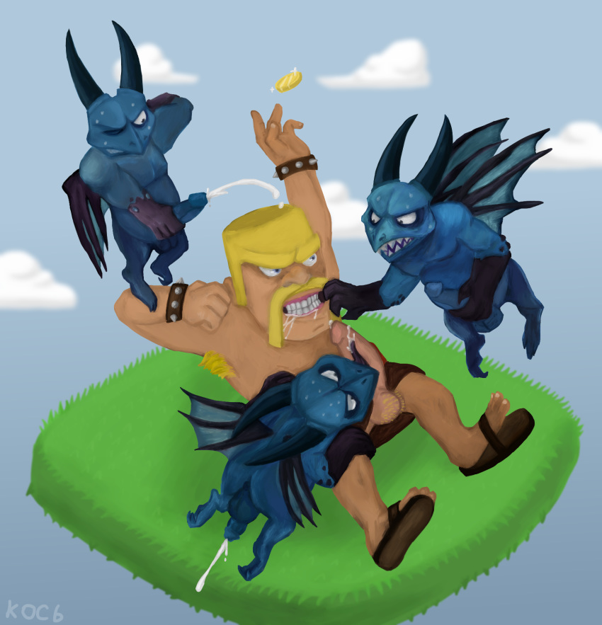 clash naked of clans troops Five nights at freddy's anime foxy
